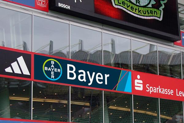 Print Design Bayer Sportbande von DESIGN B3