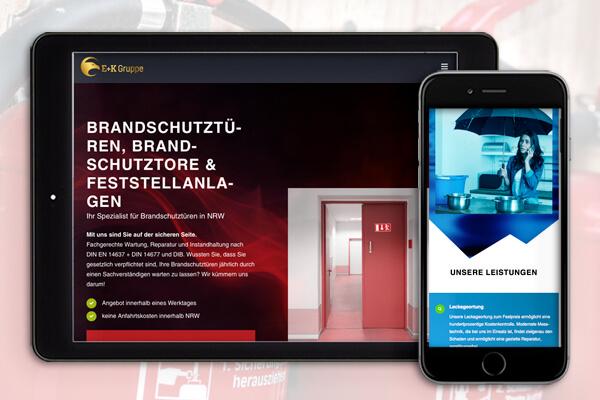 Webdesign von DesignB3 Werbeagentur Leverkusen
