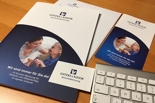 Redesign und Unternehmens-Entwicklung für Gatzke & Kiziok