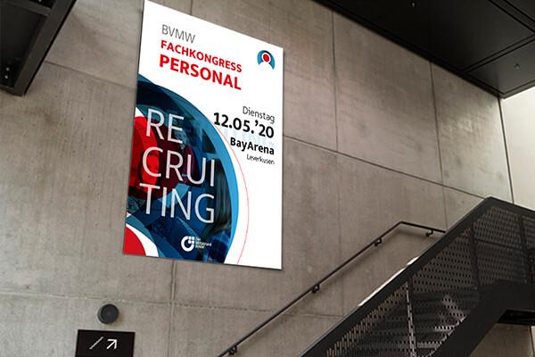 Gestaltung und Branding von Veranstaltungsformaten, Beispiel BVMW Fachkongress Personal