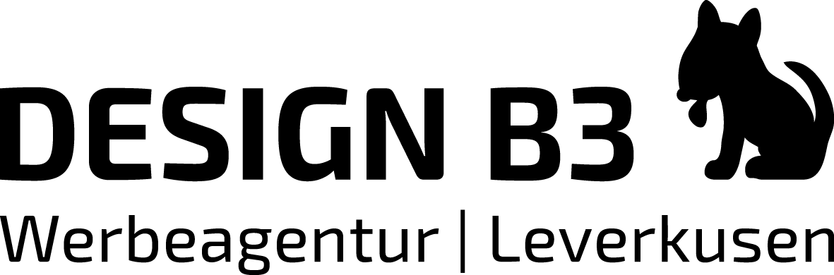 DESIGN B3 Werbeagentur Leverkusen Logo
