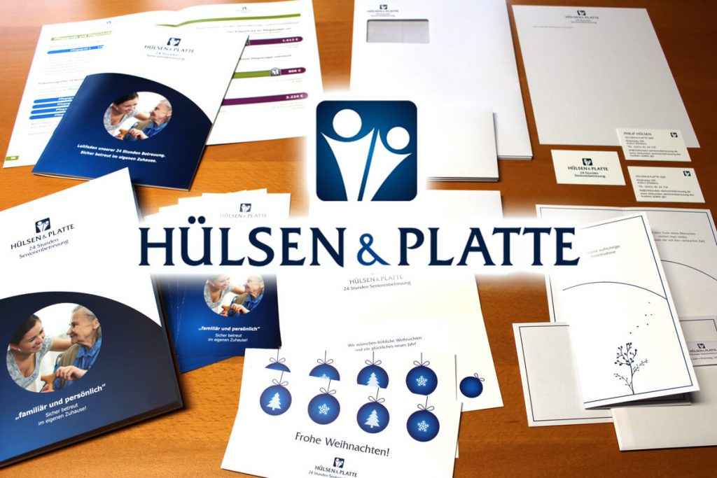 Corporate Design Hülsen&Platte