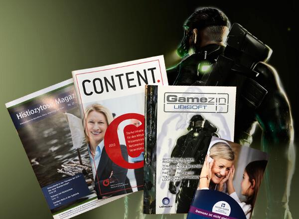 Gestaltung von Magazinen und Broschüren in Leverkusen