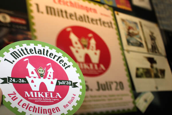 MIKELA Mittelalterfest Print Design von DESIGN B3 Werbeagentur Leverkusen