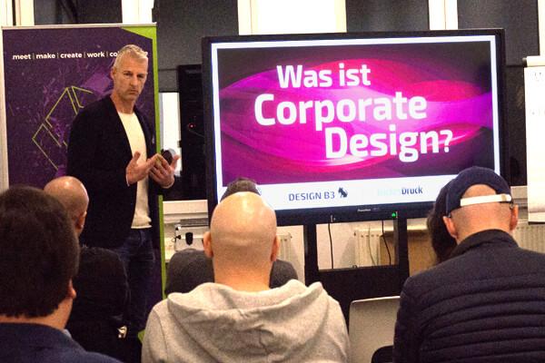 Corporate Design Seminar von DESIGN B3 Webeagentur Leverkusen